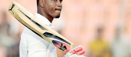 CRICKET: Samuels Scores Double Hundred